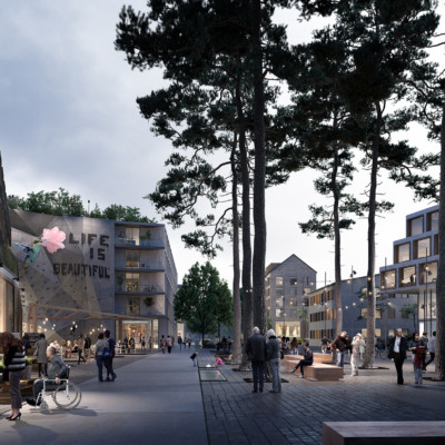 Ny stadsdel i Stora Sköndal